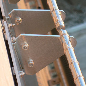 metal fastening system / for facade cladding / exterior / interior