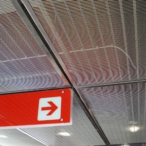 stainless steel suspended ceiling
