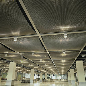 wire mesh suspended ceiling / panel / wire