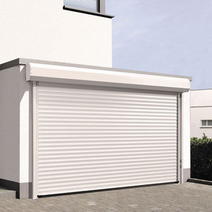 roll-up garage doors / aluminum / automatic / insulated