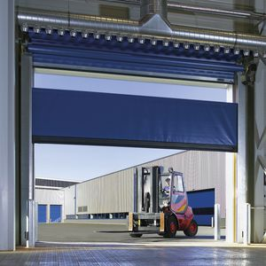 roll-up industrial doors / steel / aluminum / fabric