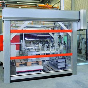 roll-up industrial doors / steel / fabric / automatic