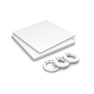 rectangular shower base / raised / fiberglass / concrete