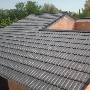 flat roof tile