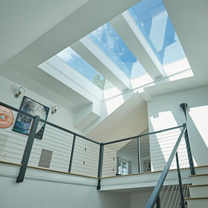 aluminum glass roof