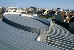 zinc structural panel