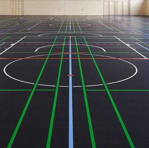 linoleum sports flooring / indoor / for multipurpose gyms