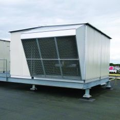 gas hot air generator / industrial