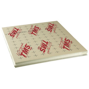 thermal insulation / polyurethane foam / for heated floors / for flooring screed