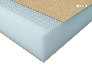 thermal insulation / fiberglass / wall / for partition walls