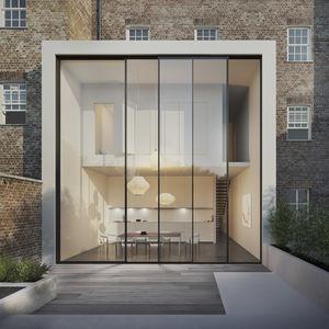 minimalist patio door