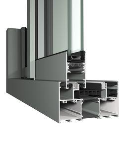 door sliding system / window / metal