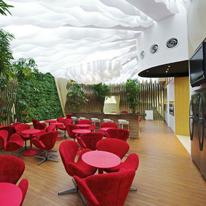 paper suspended ceiling