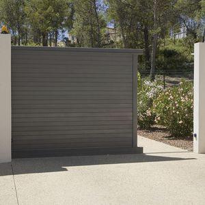 swing gates / sliding / aluminum / louvered