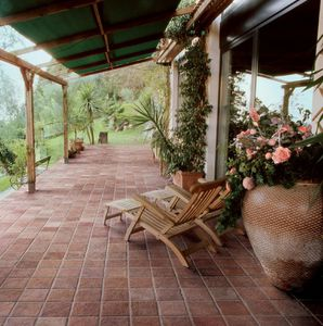 porcelain stoneware paver / anti-slip / high performance and load / frost-resistant