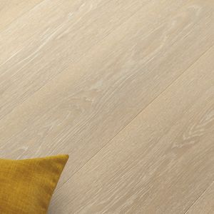 HDF laminate flooring / click-fit / wood look / commercial