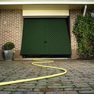 tilting garage doors