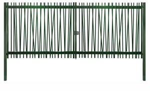 swing gates / galvanized steel / bar / home
