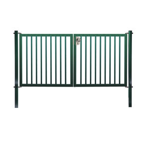 swing gates / galvanized steel / bar / for playgrounds