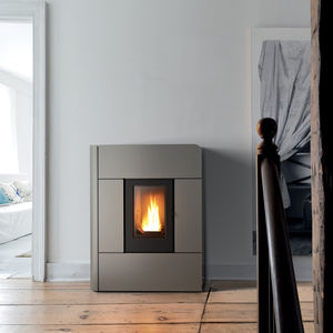 pellet heating stove / steel / contemporary / RT 2012