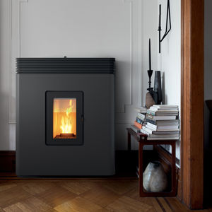 pellet heating stove / metal / contemporary / RT 2012