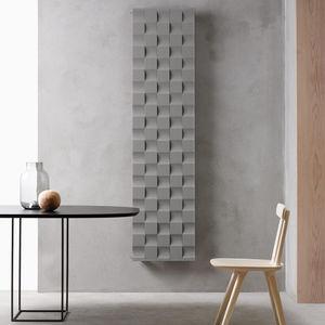 hot water radiator / electric / sheet metal / original design