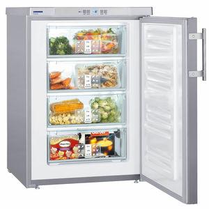 undercounter freezer / gray / European Eco-label / energy-saving