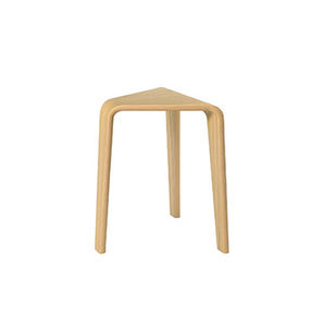contemporary stool / oak / plywood / bentwood
