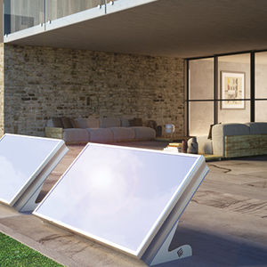 flat thermal solar collector