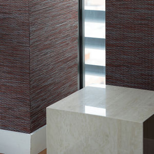wall fabric / patterned / PVC / weave