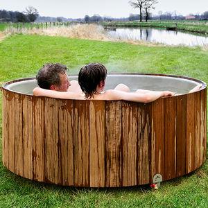 wood Nordic hot tub