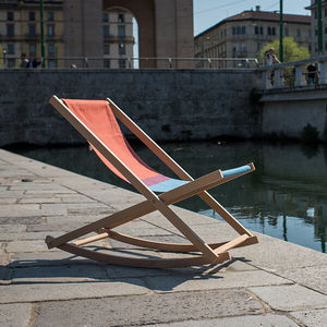 cotton deck chair
