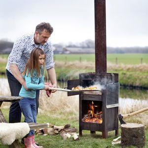wood-burning oven