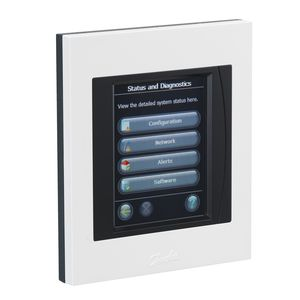 wall-mounted heating controller