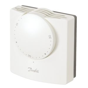 room thermostat / mechanical / wall-mounted / for heating