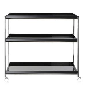 office service trolley / commercial / home / chrome steel