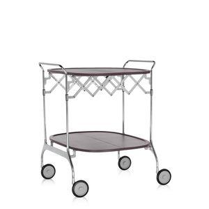 steel trolley / fiberglass