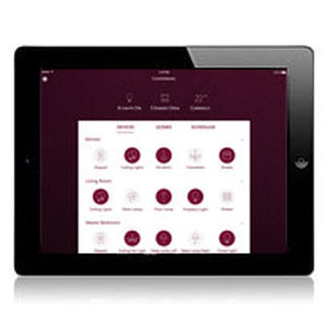 interior home automation system / for energy management / bedroom / kitchen