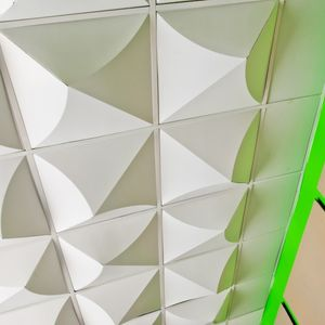 cardboard suspended ceiling