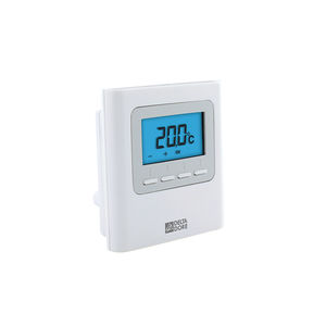 room thermostat / wall-mounted / for underfloor heating / with digital display