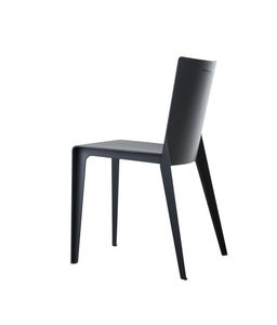 contemporary chair / composite / gray / beige