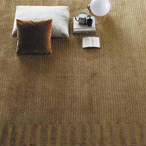 contemporary rug / plain / linen / bamboo