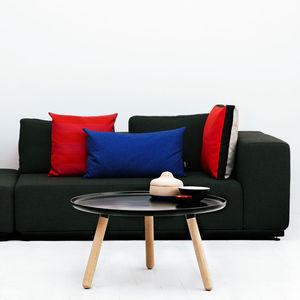 contemporary coffee table / ash / plastic / composite