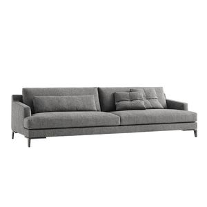 modular sofa / contemporary / living room / fabric