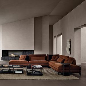 modular sofa / corner / contemporary / living room