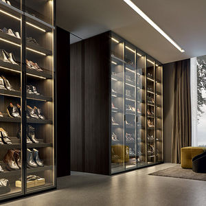 contemporary shoe rack