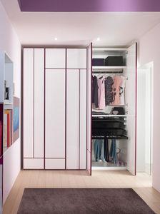 contemporary wardrobe