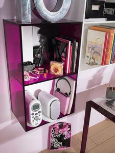 contemporary shelf / wooden / child's / girl's