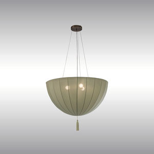 traditional ceiling light / fabric / LED / incandescent