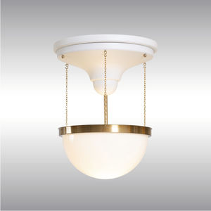 traditional ceiling light / brass / LED / incandescent